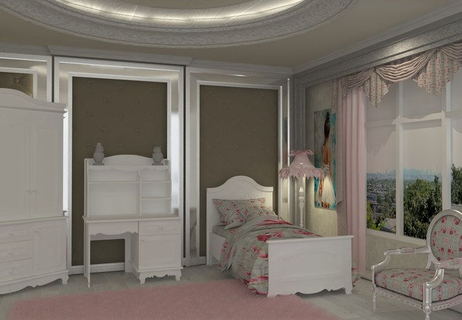 VICTORIA YOUNG BEDROOM