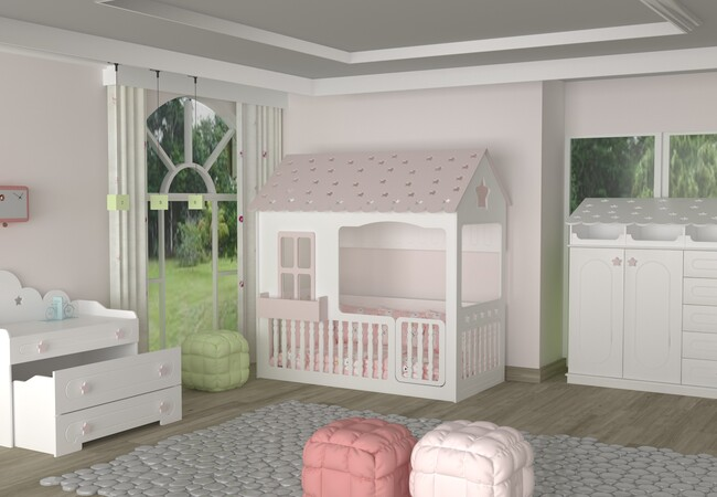 MONTESSORI STAR BED FURNITURE